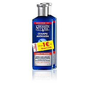 Naturaleza Y Vida - CHAMPU ANTICAIDA cabello graso set ab 7.51 (10.50) Euro im Angebot
