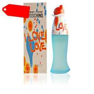 Moschino - CHEAP AND CHIC I LOVE LOVE eau de toilette spray 100 ml ab 29.19 (82.55) Euro im Angebot