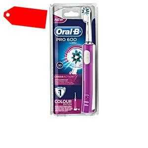 Oral-b - CROSS ACTION PRO600 cepillo eléctrico ab 37.53 (49.95) Euro im Angebot