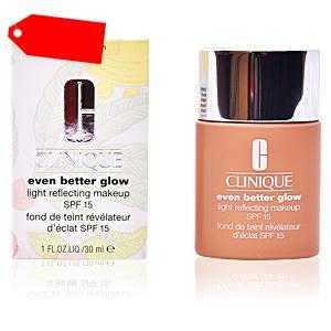 Clinique - EVEN BETTER GLOW light reflecting makeup SPF15 #honey ab 26.05 (37.50) Euro im Angebot