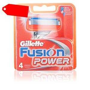 Gillette - FUSION POWER cargador 4 recambios ab 13.53 (20.50) Euro im Angebot