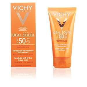 Vichy - IDÉAL SOLEIL emulsion anti-brillance toucher sec SPF50 50 ml ab 13.10 (16.00) Euro im Angebot
