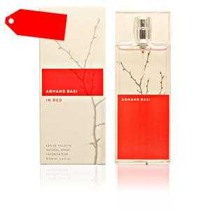 Armand Basi - IN RED eau de toilette spray 100 ml ab 26.16 (72.02) Euro im Angebot