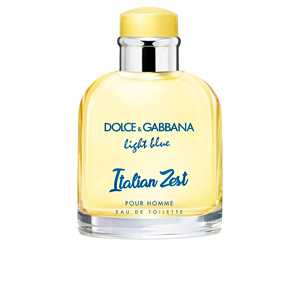 Dolce & Gabbana - LIGHT BLUE ITALIAN ZEST POUR HOMME eau de toilette spray 125 ml ab 68.43 (99.00) Euro im Angebot