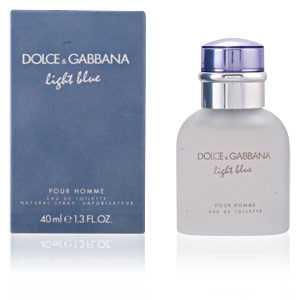 Dolce & Gabbana - LIGHT BLUE POUR HOMME eau de toilette spray 40 ml ab 36.01 (55.00) Euro im Angebot