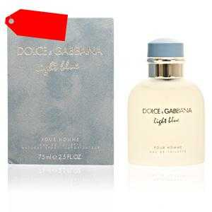 Dolce & Gabbana - LIGHT BLUE POUR HOMME eau de toilette spray 75 ml ab 44.35 (69.50) Euro im Angebot
