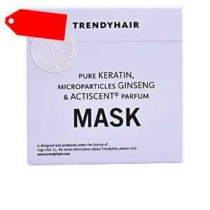 Trendy Hair - MASK ELASTIC KERATIN with ginseng 500 ml ab 26.12 (50.00) Euro im Angebot