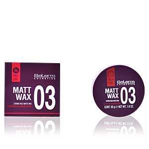 Salerm - MATT WAX strong hold matte wax 50 gr ab 9.69 (10.50) Euro im Angebot