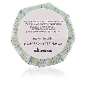 Davines - MORE INSIDE medium hold finishing gum 75 ml ab 21.66 (22.80) Euro im Angebot