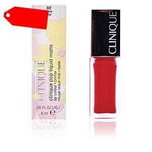 Clinique - POP LIQUID matte #02-flame pop ab 17.88 (26.00) Euro im Angebot