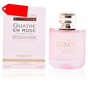 Boucheron - QUATRE EN ROSE eau de parfum florale spray 100 ml ab 38.59 (96.00) Euro im Angebot
