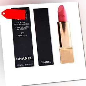 Chanel - ROUGE ALLURE VELVET #67-peaceful ab 32.50 (35.00) Euro im Angebot