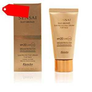 Kanebo Sensai - SENSAI SILKY BRONZE face cream SPF20 50 ml ab 73.54 (110.00) Euro im Angebot