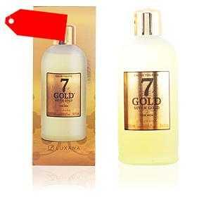 Luxana - SEVEN GOLD eau de toilette 1000 ml ab 31.82 (42.00) Euro im Angebot