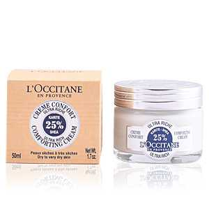 L'Occitane - SHEA BUTTER shea ultra rich face cream 50 ml ab 25.72 (29.00) Euro im Angebot