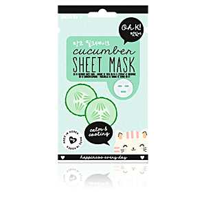 Oh K! - SHEET FACE MASK cucumber calm & cooling 20 ml ab 8.62 (9.75) Euro im Angebot