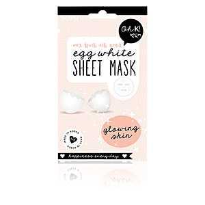 Oh K! - SHEET FACE MASK egg white glowing skin 20 ml ab 8.62 (9.75) Euro im Angebot