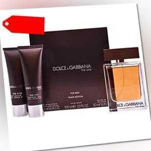 Dolce & Gabbana - THE ONE FOR MEN set 3 pz ab 57.77 (96.50) Euro im Angebot