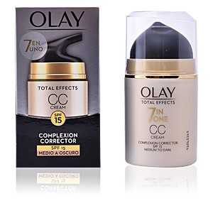 Olay - TOTAL EFFECTS CC cream SPF15 #medio a oscuro ab 15.57 (26.00) Euro im Angebot