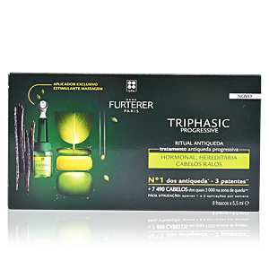 Rene Furterer - TRIPHASIC PROGRESSIVE tratamiento anti-caida 8 x 5