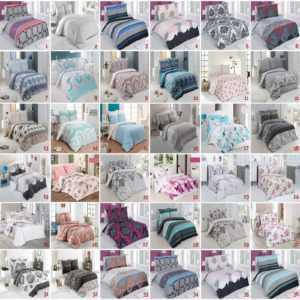 Bettwäsche Baumwolle Renforce Reißverschluss Größe Design Wählbar