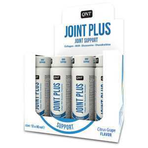 (19,78€/l) QNT Joint Plus Shot 12x 80ml Ampullen Citrus Grape, MSM, Glucosamin