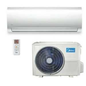Midea Split Klimaanlage Blanc 5,3 kW Inverter Klimageräte Set A++ R32; EEK A+++