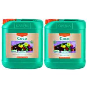 CANNA Coco A&B 5 L Dünger für Wuchs- und Blühphase auf Kokos