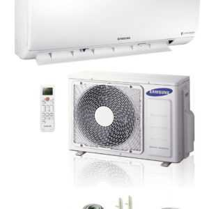 SAMSUNG Boracay 2,5kW Klimaanlage Inverter Wärmepumpe Klimagerät 25m2 R32; EEK A+++