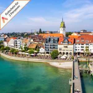 3- 6 Tage Kurzreise Bodensee Friedrichshafen 2 Personen 4 Sterne Hotel Gutschein