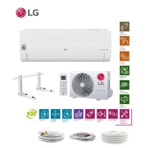 LG Standard S09EQ R32 2,5 kW Klimaanlage Klimagerät + Quick Connect 6 Meter