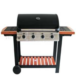 MAXXUS Gasgrill | BBQ CHIEF Timber 4.0 | 4 Gussbrenner | 14 kW | Grill