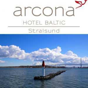 Ostsee Kurzurlaub 4★ arcona Hotel Baltic Stralsund Urlaub Winter Sonderpreis!