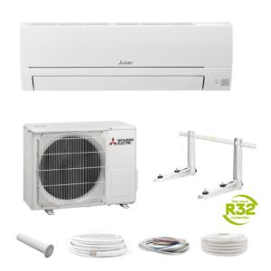 Mitsubishi HR-35VF (MSZ-DM35) 3,15 kW Klimaanlage Klimagerät + Montageset; EEK A++