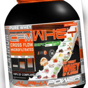 CFM Eiweiss 2000g Dose (19,99€/kg) Pulver Eiweiß Shake Whey Protein Isolat BCAA