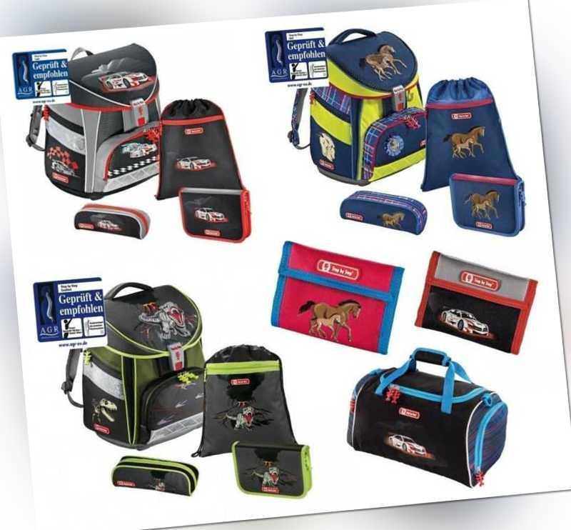 Step by Step Schulranzen Sporttasche Hama Touch Flexline Comfort Light NEU Auswa