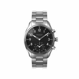 KRONABY Hybrid Smartwatch 43 mm Edelstahl