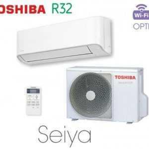 Toshiba SEIYA 4,2 kW Split Klimaanlage R32 A++/A+ leise nur 22 dB(A) Serie 2019; EEK A++