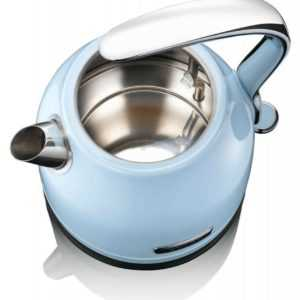 Retro-Design Wasser-Kocher Tee KHAPP 15130009 blau (light blue) 1,2 Liter 2000W