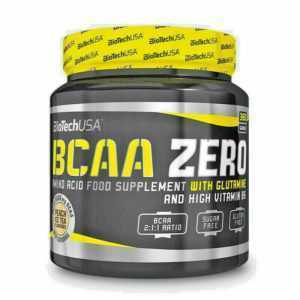 Biotech USA BCAA Zero 360g Dose Aminosäuren +L-Glutamin