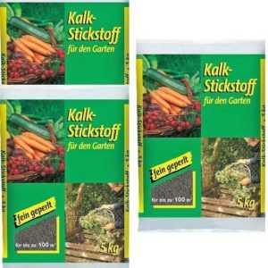 2,09€/KG - Kalkstickstoff 5kg (3x) fein geperlt Garten Dünger Gemüse Kompo