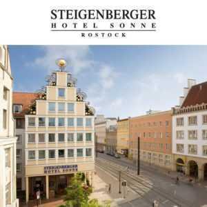 3 Tage Rostock Steigenberger Hotel Kurzurlaub exklusiv mit Abendmenü 2 Personen