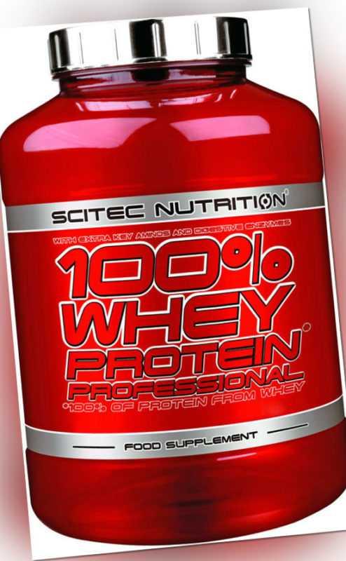 Scitec Nutrition 100% Whey Protein Professional 920g + Plus kostenlose Probe