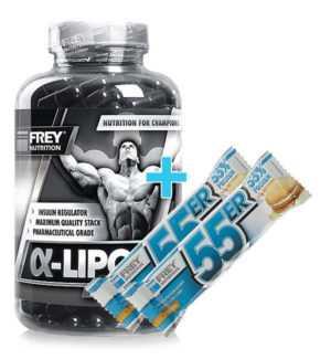 Frey Nutrition Alpha-Liponsäure 250x 640 mg -Chrom Alpha A1A