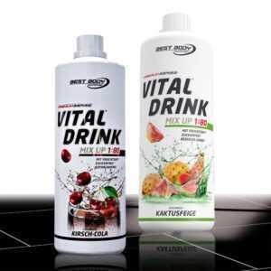 Low Carb Vital Drink (10,00€ /Ltr.) 2 Flaschen a´1000ml Mineraldrink  ANGEBOT !!