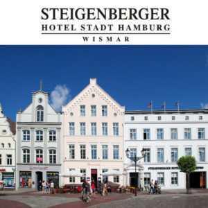 Wismar Ostsee 4-Sterne Steigenberger Hotel mit Abendessen Kurzurlaub 2 Personen