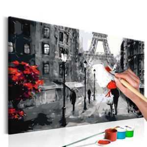 Malen nach Zahlen Erwachsene Wandbild Malset mit Pinsel Malvorlagen n-A-0225-d-a