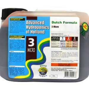 5000ml Advanced Hydroponics Micro Dutch Formula 3 Mikroelemente
