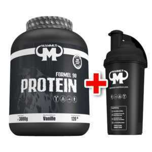 Mammut Formel 90 Protein Eiweißshake 3000 g / 3kg + gratis Mammut Shaker