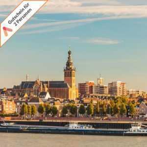Kurzurlaub Nijmegen Nimwegen 3 Tage für 2 Personen Hotel Courage Gutschein
